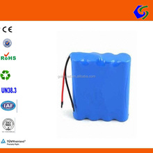 12V 1.5AH customzied 4s1p li-ion lifepo4 battery