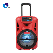 2018 New Audio Equipment Rechargeable Bluetooth Trolley Speaker