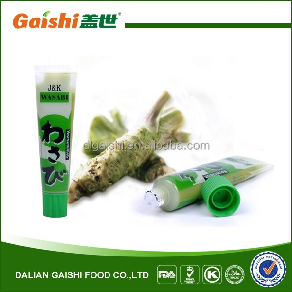 2015 Best Sale High Quality Halal Products Wasabi Powder 43g Wasabi In Tube