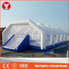 2016 Hot outdoor inflatable sport games football field/ pitch for adults