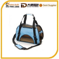 Cute dog carrier bag for travel