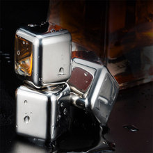 304 stainless steel ice cube creative metal clip quick frozen ice cube ice cube bar shower