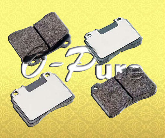 Mercedes Benz brake parts for W201 spare part o-pure ceramic brake pad OE 001 420 98 20 None abestos good price best seller