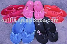 Women PVC air blowing slipper