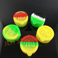 [JLH]Mixed color silicone container with 710 logo
