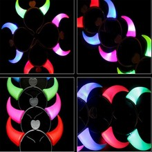 led flashing hair band for party&event&concert,colorful lead headband,halloween costume