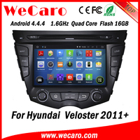 Wecaro WC-HV7059 Android 4.4.4 car dvd player for Hyundai veloster 2011 2012 2013 2014 2015 with radio 3G wifi playstore