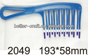 factory low price hair comb,large plastic hair combs