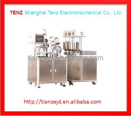 Servo Control Cosmetic Automatic Liquid Foundation Back Filling And Press Powder Machine OEM/ODM