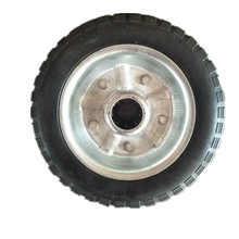 6 inch Black solid Wheel for Luggage Rubber Wheel