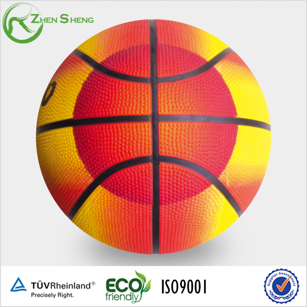 natural rubber basketball toy