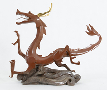 Hot sale chinese zodiac decoration bronze dragon statue for sale