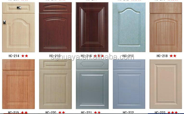 mdf lacquer uv detail vc door cucine solid kitchen product foshan doors cabinet wood pvc
