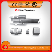 Stainless steel ss ferrule connector/hydraulic hose ferrule fittings/hydraulic compression fitting
