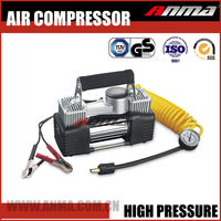 heavy duty electric 12V dc mini portable emergency air compressor for car tyre inflator