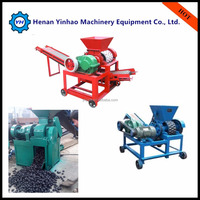 CE Gold supplier widely used high performance coal charcoal rods briquette making machine/coal briquette machine