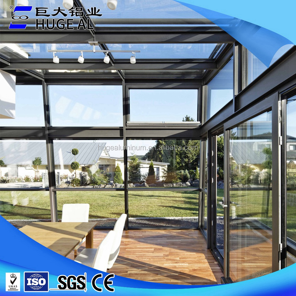 OEM manufacturers double insulated glass sun rooms