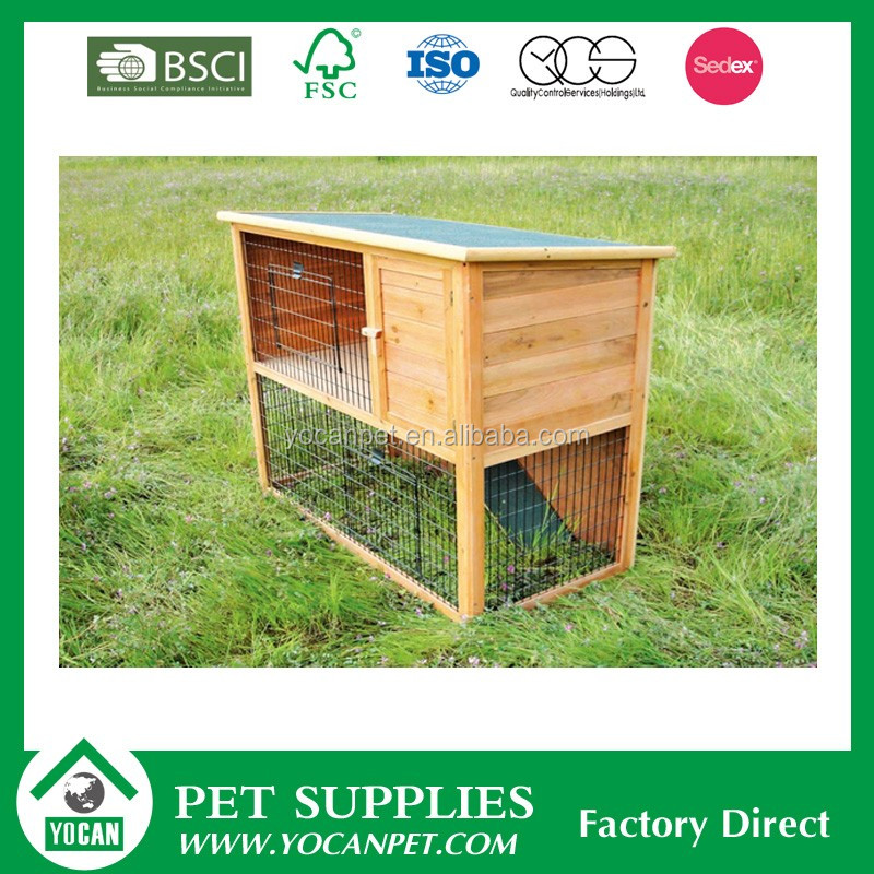 High quality luxuriant rabbit cage wood designs
