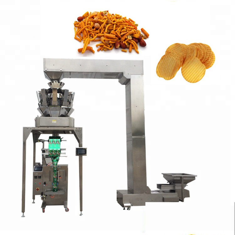 PLC control YB-<strong>Z10</strong> Automatic 10 head weigher fruits seeds candy packing cereal packaging machine