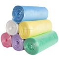 Garbage Bag PE 6 Rolls Thicken Rubbish Bag for Kitchen Household