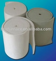 High alumina and low thermal conductivity ceramic fiber blanket