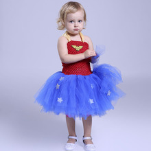 Children Frocks Designs Cosplay Party Girl Costume Tutu Dress