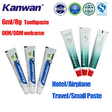 Customized private label Hotel small size Toothpaste