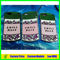 Custom chill pills 3d silicone mobile phone case cover Iph 5s 6 6plus cell phone back cover case