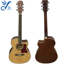 classic cutaway acoustic guitar made in China F4020YS-N