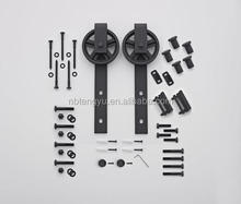 New Wooden barn door hardware sliding kit