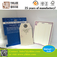 Earring Tag Jewelry Packaging&Display Type Plastic earring display card with printed logo