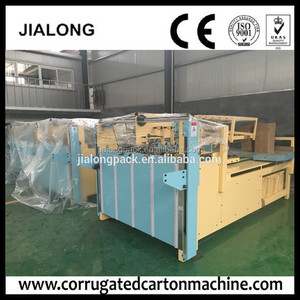 Fruit Box Semi automatic folder gluer machine /high quility automatic carton folding gluing machine/carton gluer