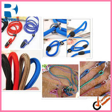 Dog Chain Pet training flexible harness, HOT&NEW! Pet dog P chain rope, Nylon woven unibody harness,, no need collar#H0042