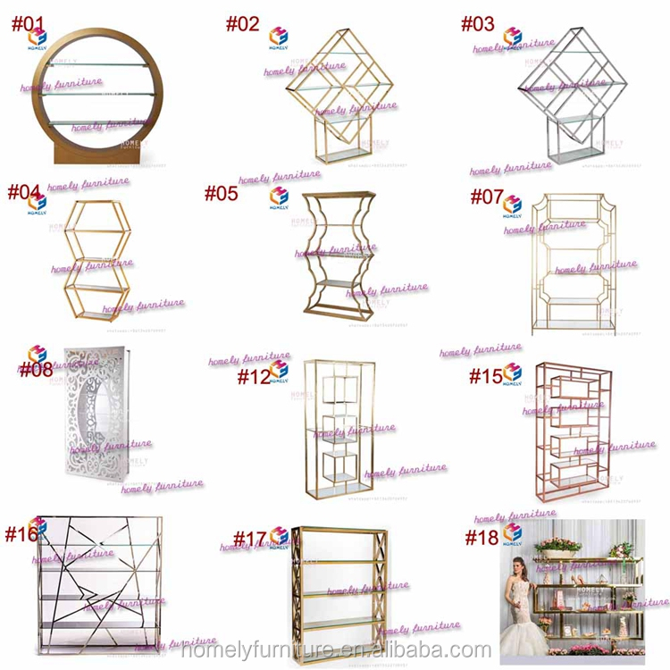 Beautiful  Fancy wedding furniture  decoration different shape  round wedding backdrops for sale