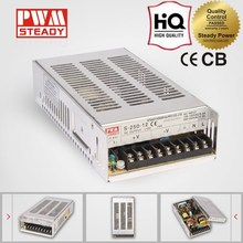 CE 100% guaranteed 250W 12V 18A LED AC DC selv electric recliner constant voltage led power supply unit with high quality