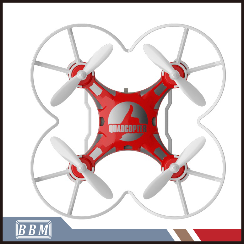 The Best Christmas Gift 4 CH 2.4G 6-Axis Gyro Pocket Mini Drone