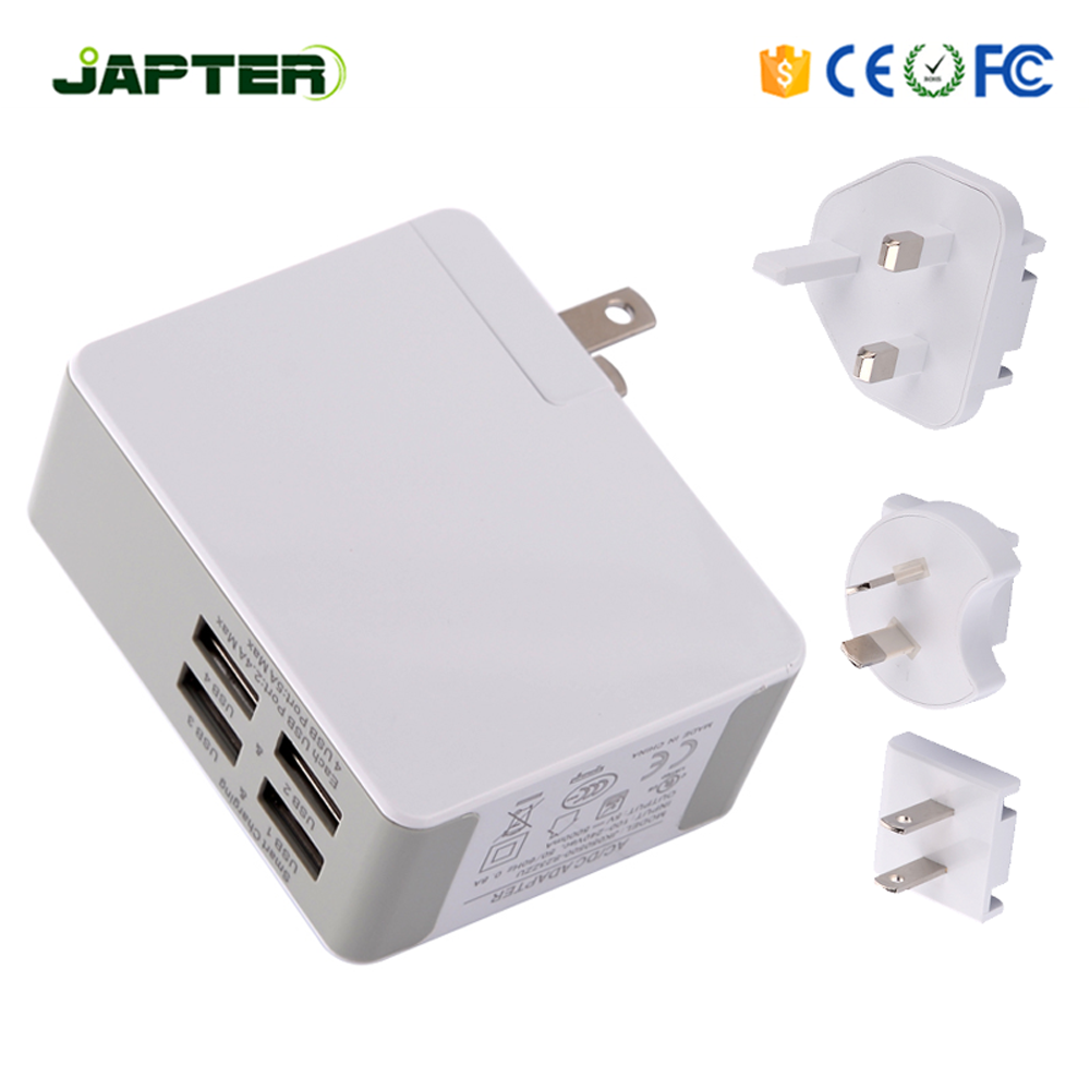 Factory sell fast charger 2017 UK AU EU USA plug 5v 2A 2 amp usb wall charger