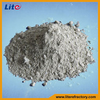 High Temp Kiln Furnace Repair Mass Light Weight High Alumina Insulation Material Refractory Castable