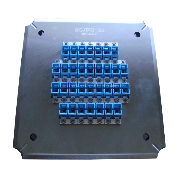 LC/ PC 36 Connector fiber optic polishing fixture for Square Plolising Machine