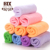 China supplier solid color microfiber towels and colorful towel