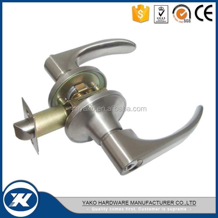 New Design Zinc alloy Tubular Lever Handle Door Lock