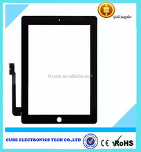 Best Choice lcd screen for ipad 4, spare parts for ipad4 digitizer
