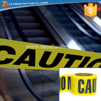 Safety Warning Tape PE Plastic Barricade Caution Tape Suitable for Printed