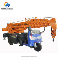 china manufacturer offer dubai mobile crane for sale LXQY-3