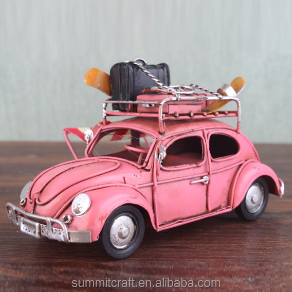 Classic beetle car toys small metal old model car