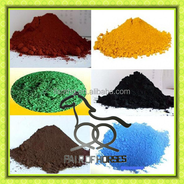good price iron oxide all kinds of pigments