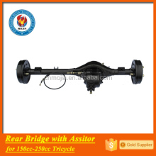 chongqing factory export 3 wheeler trike rear axle with assistor