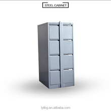 Strip - locking 4 drawer metal vertical file cabinet steel office filing central locking system