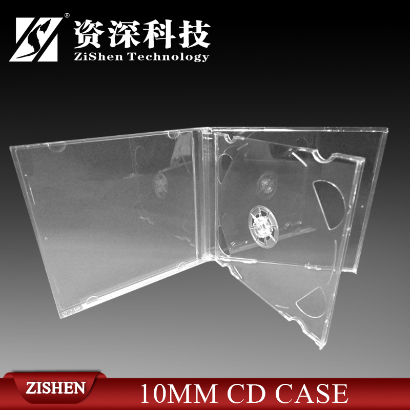 10.4mm Jewel CD Case with Clear Tray