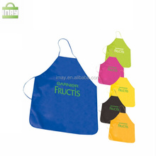 Promotional colorfull non woven apron